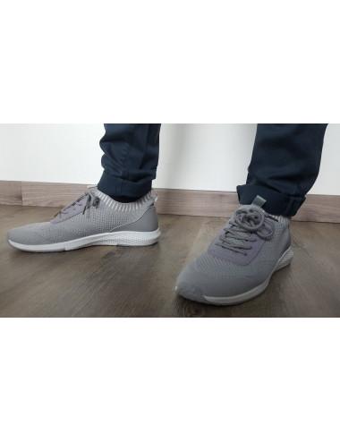 Basket souple gris