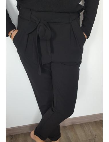 Pantalon noir fluide &...